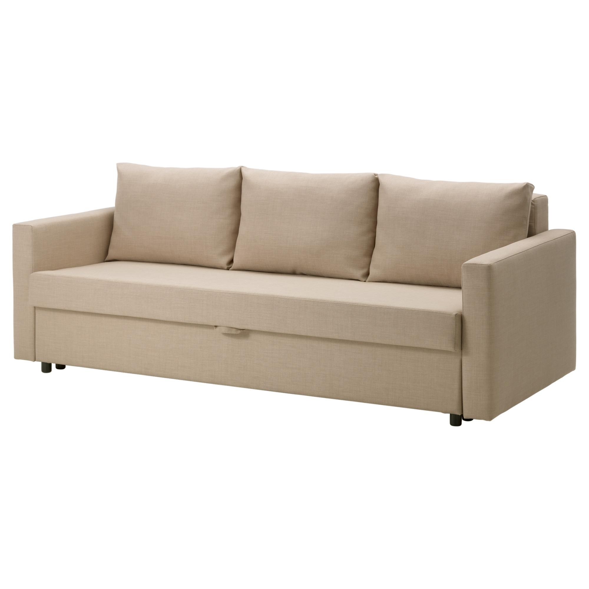 Furniture: Ikea Sofa Sleeper For Modern Minimalist Room Decor Throughout Convertible Queen Sofas (View 16 of 20)