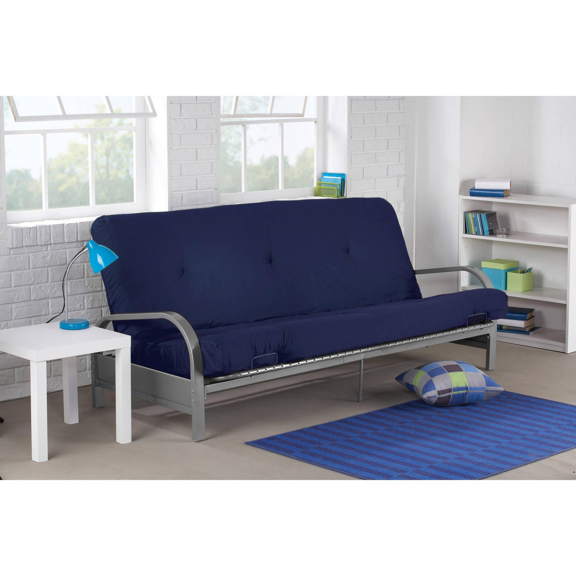 Furniture: Impressive Futon Covers Walmart For Your Lovely Couch For Mainstay Sofas (Image 2 of 20)