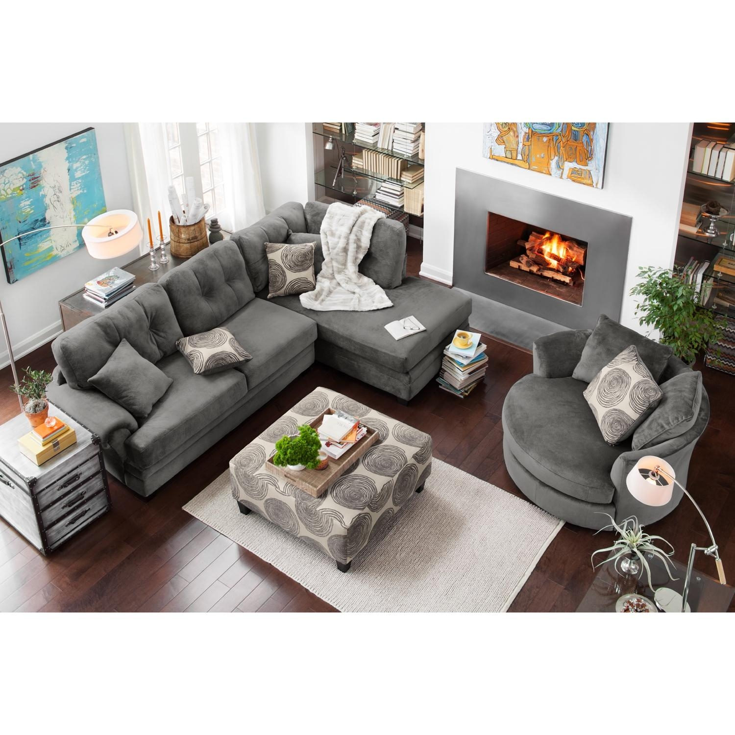 Furniture: Inexpensive Couches | Value City Furniture Outlet Regarding Inexpensive Sectionals (Image 6 of 20)