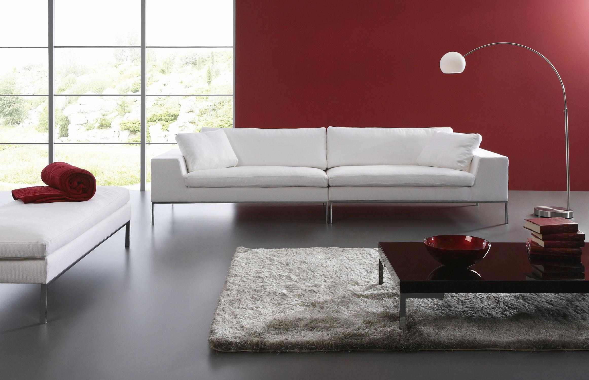 Furniture: Interesting Living Room Design With Contemporary Sofas Intended For Window Sofas (Image 7 of 20)