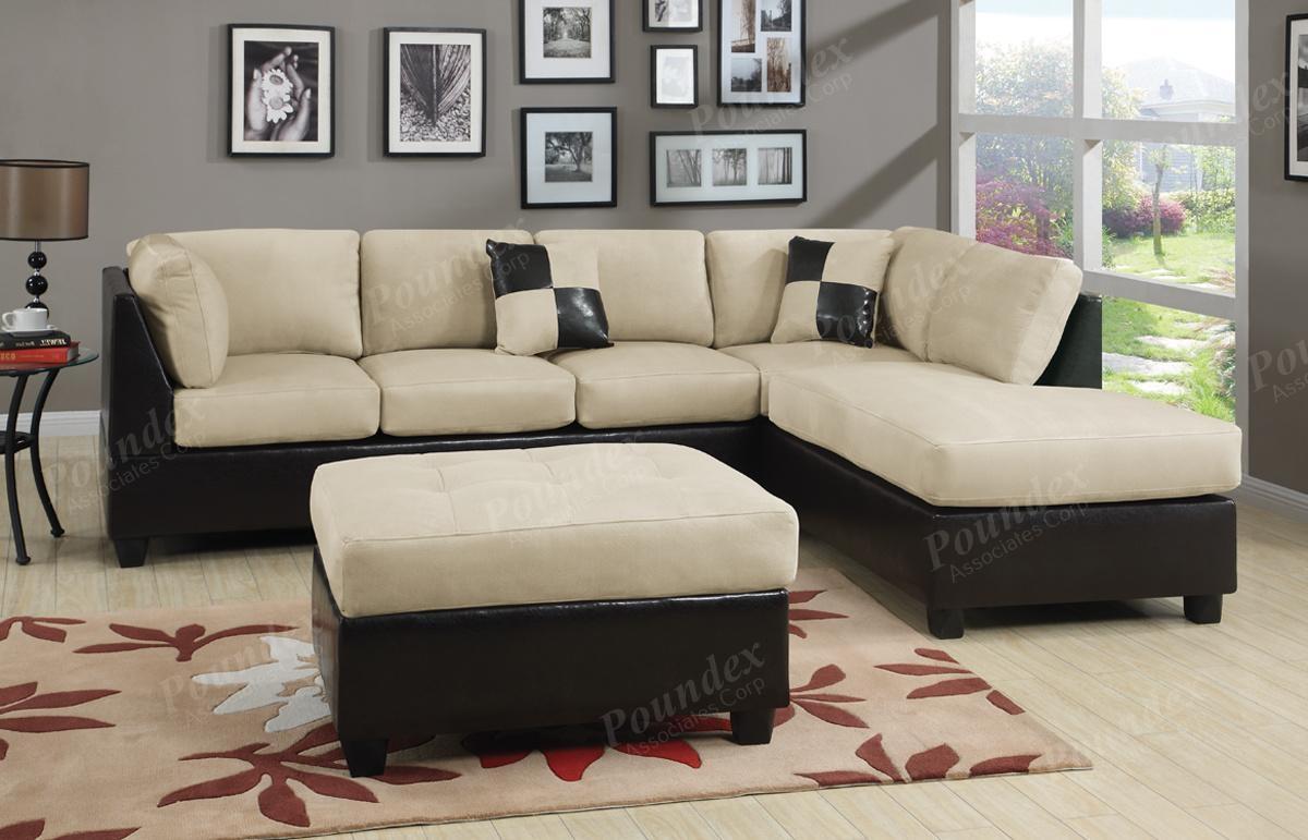 Furniture: Interesting Microfiber Sectional For Living Room Inside Blue Microfiber Sofas (Image 7 of 20)