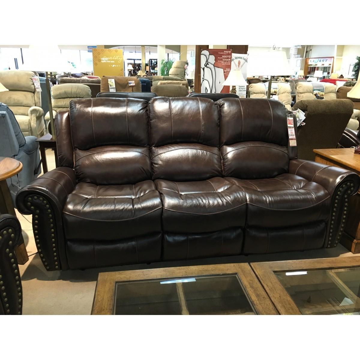 Furniture Italian Leather Power Reclining Sofa With Cheers Sofas (View 4 of 20)