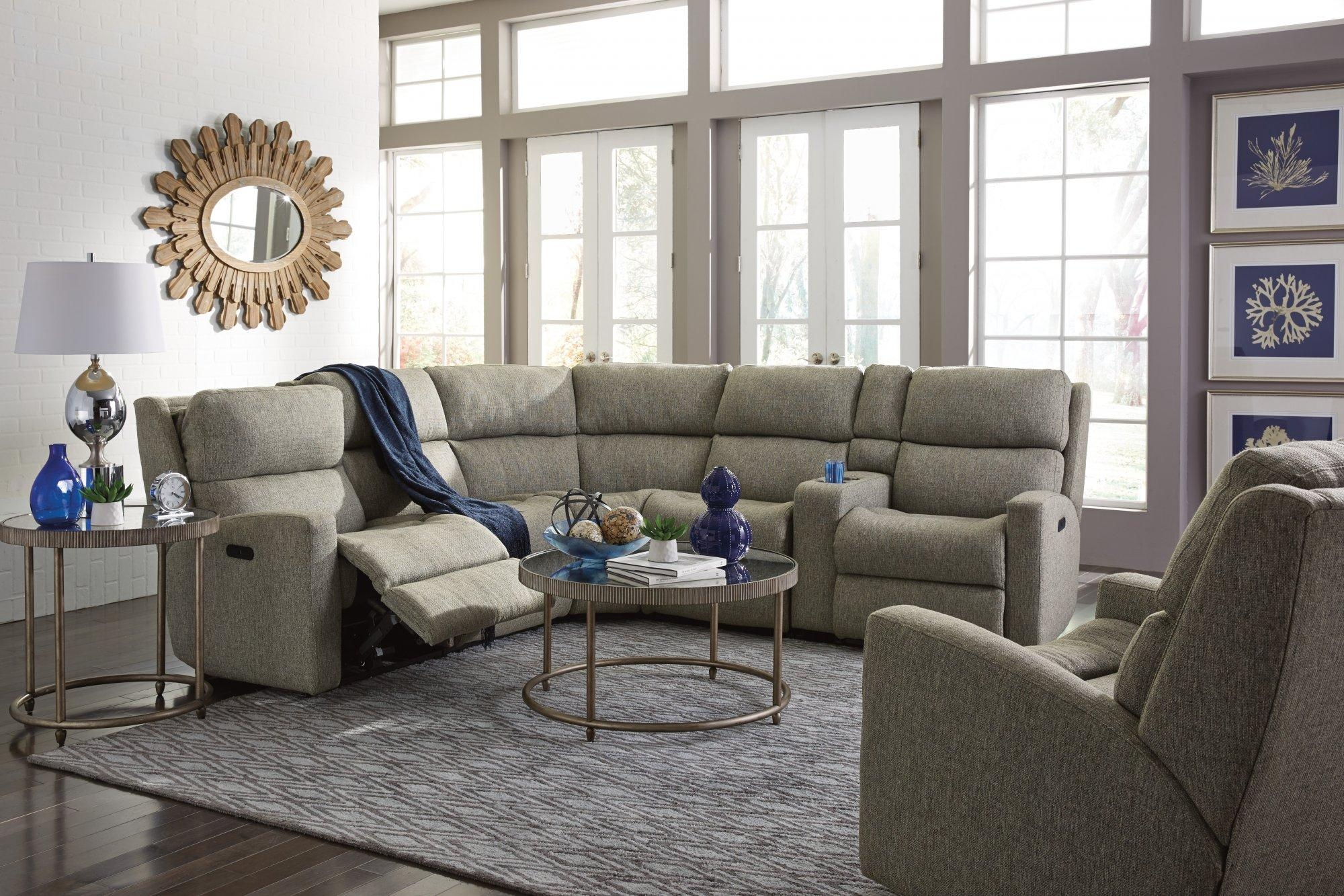 Furniture: Jedd Fabric Reclining Sectional Sofa | Sectional Within Jedd Fabric Reclining Sectional Sofa (Image 13 of 20)