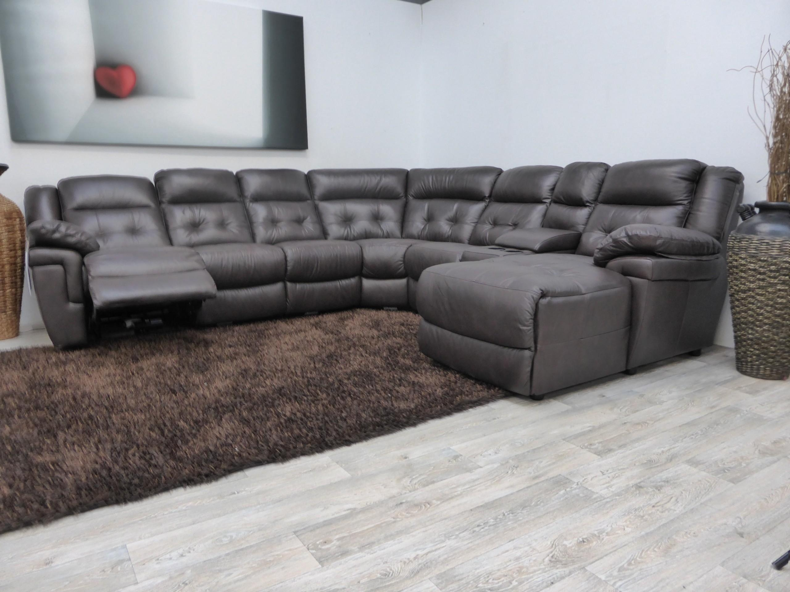 Furniture: Lazyboy Sectional | Fabric Sectional Sofa | Recliner Within Large Comfortable Sectional Sofas (Image 10 of 20)