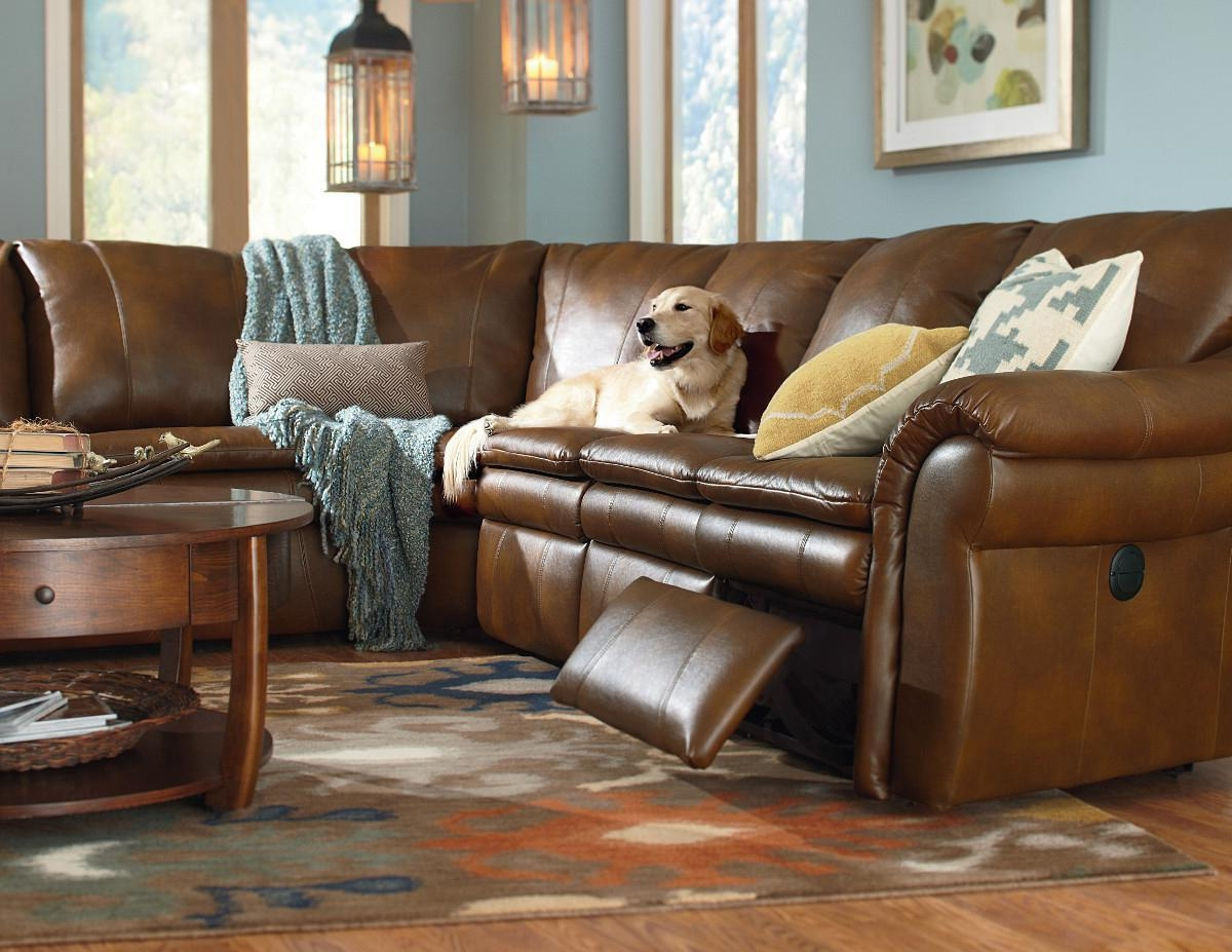 Furniture: Lazyboy Sectional With Cool Various Designs And Colors For Lazy Boy Leather Sectional (View 3 of 20)