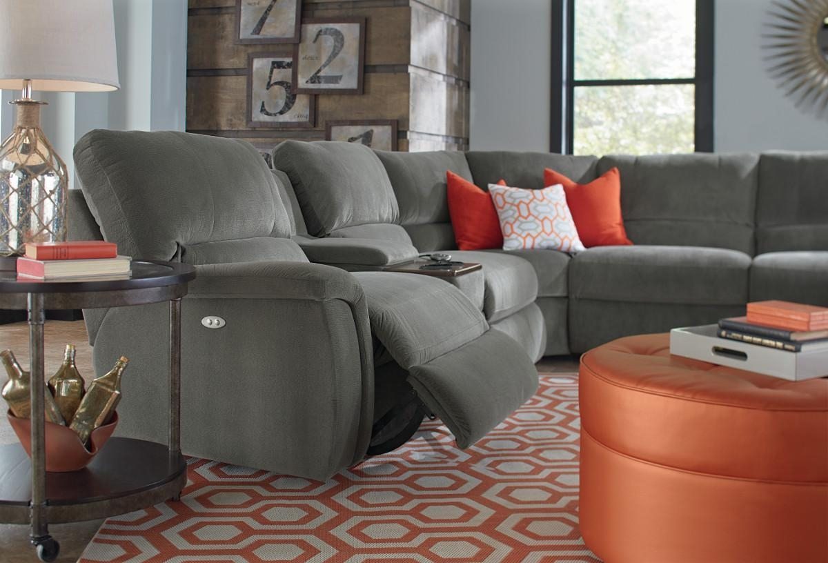 Furniture: Lazyboy Sectional With Cool Various Designs And Colors With Regard To Lazyboy Sectional Sofas (Image 8 of 20)