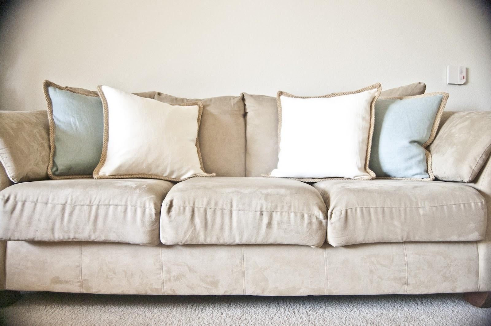 Furniture: Leather And Microfiber Couch | Microfiber Couch | Who With Green Microfiber Sofas (Image 7 of 20)