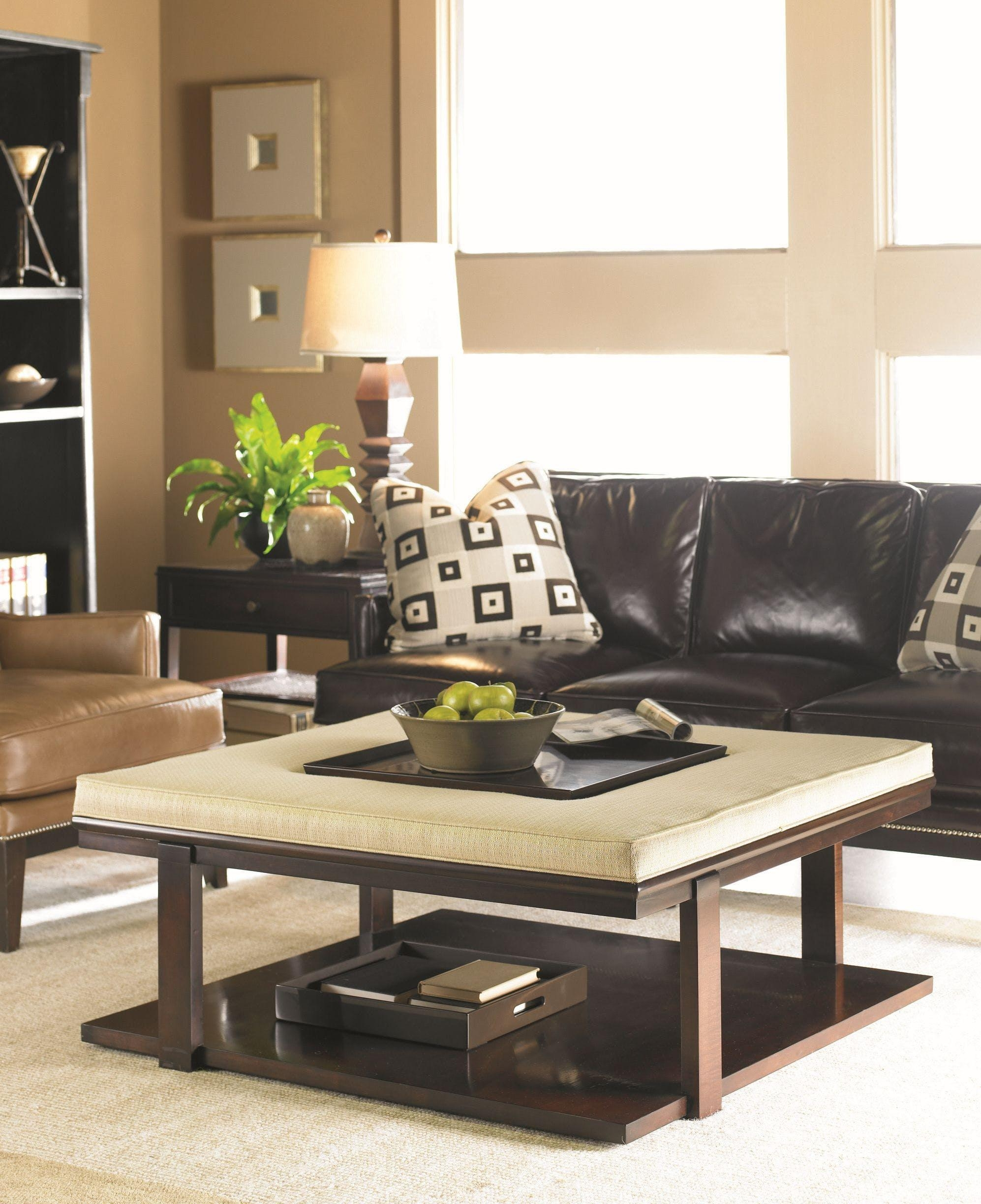 Furniture: Leather Chairs Atlanta | Sherrill Sectional Sofa With Regard To Sherrill Sectional (Image 11 of 20)