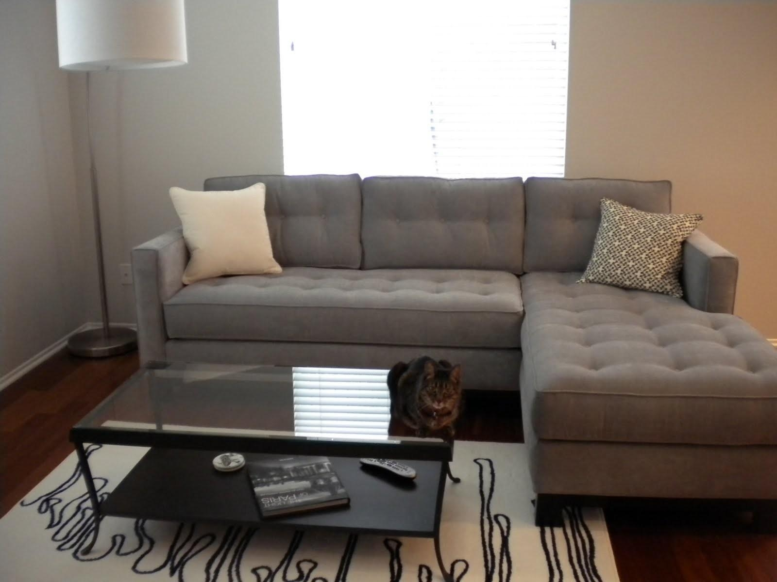 Furniture: Leather Sectional With Chaise | Oversized Sectional For Cheap Small Sectionals (Image 8 of 15)
