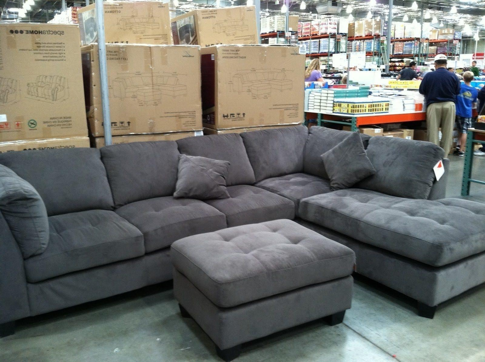 Furniture: Leather Sofa Beds Costco | Costco Sofa Bed | Sectional Within Costco Leather Sectional Sofas (Image 14 of 20)