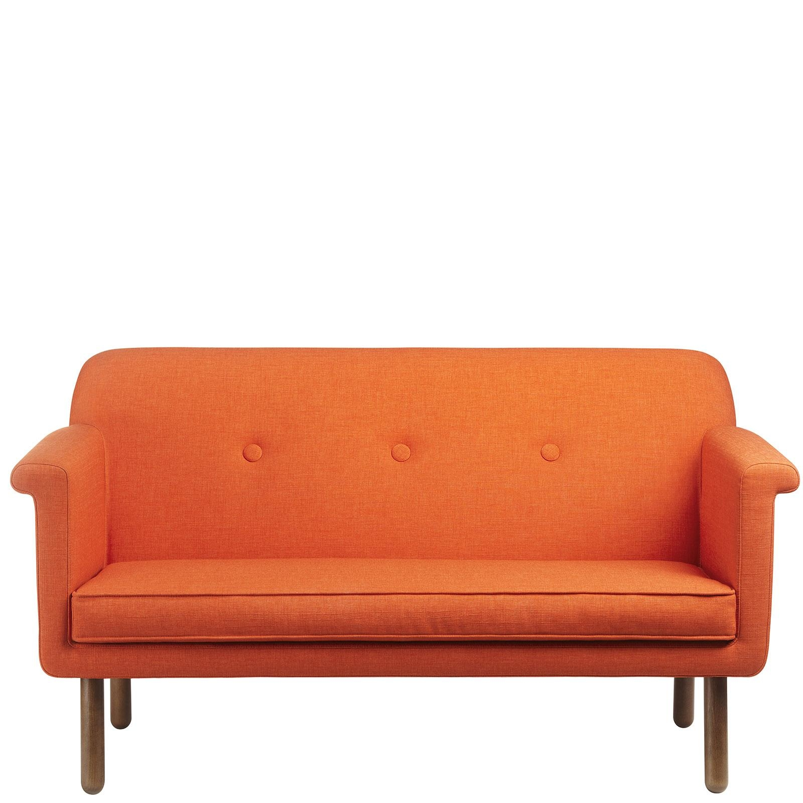 Furniture Livingroom Well Liked Sleeper Couch With Orange Sofa Pertaining To Orange Sofa Chairs (View 13 of 20)