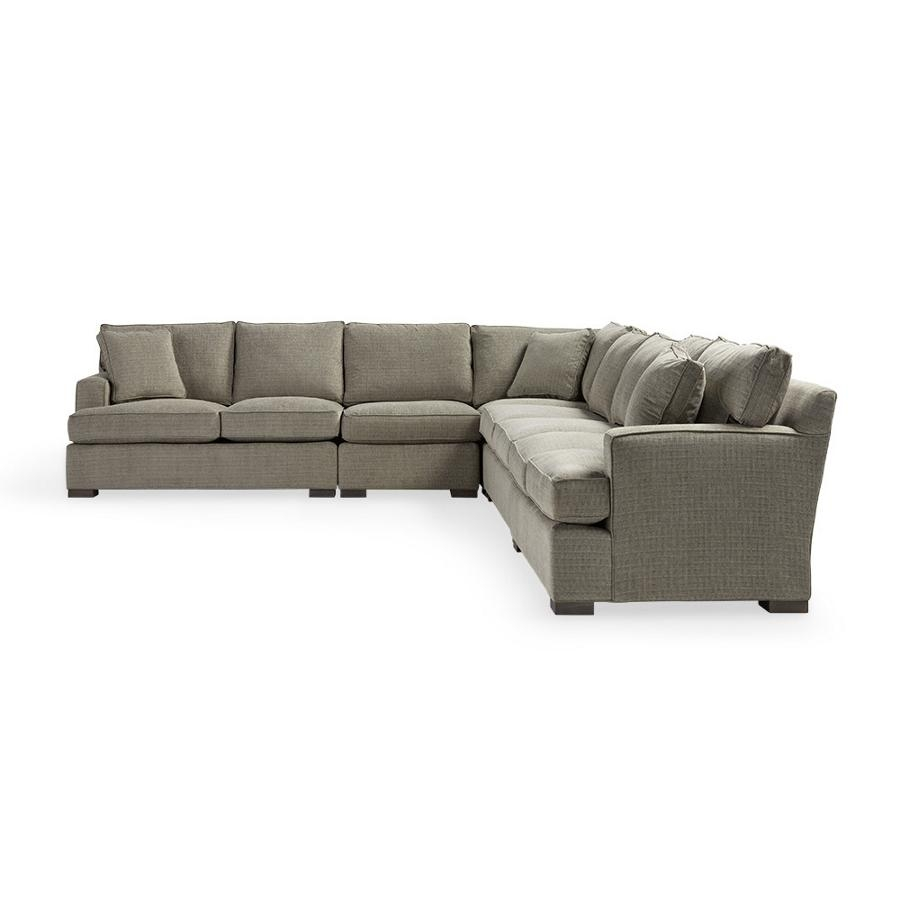 Furniture: Loveseat And Chaise Sectional | Arhaus Sectional Within Arhaus Emory Sectional (Image 14 of 15)