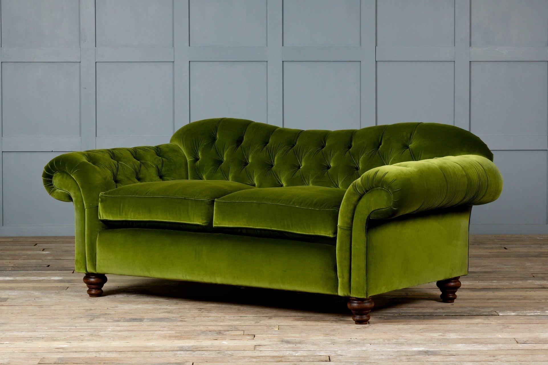 Furniture: Luxury Ava Velvet Tufted Sleeper Sofa For Elegant With Tufted Sleeper Sofas (Image 6 of 20)