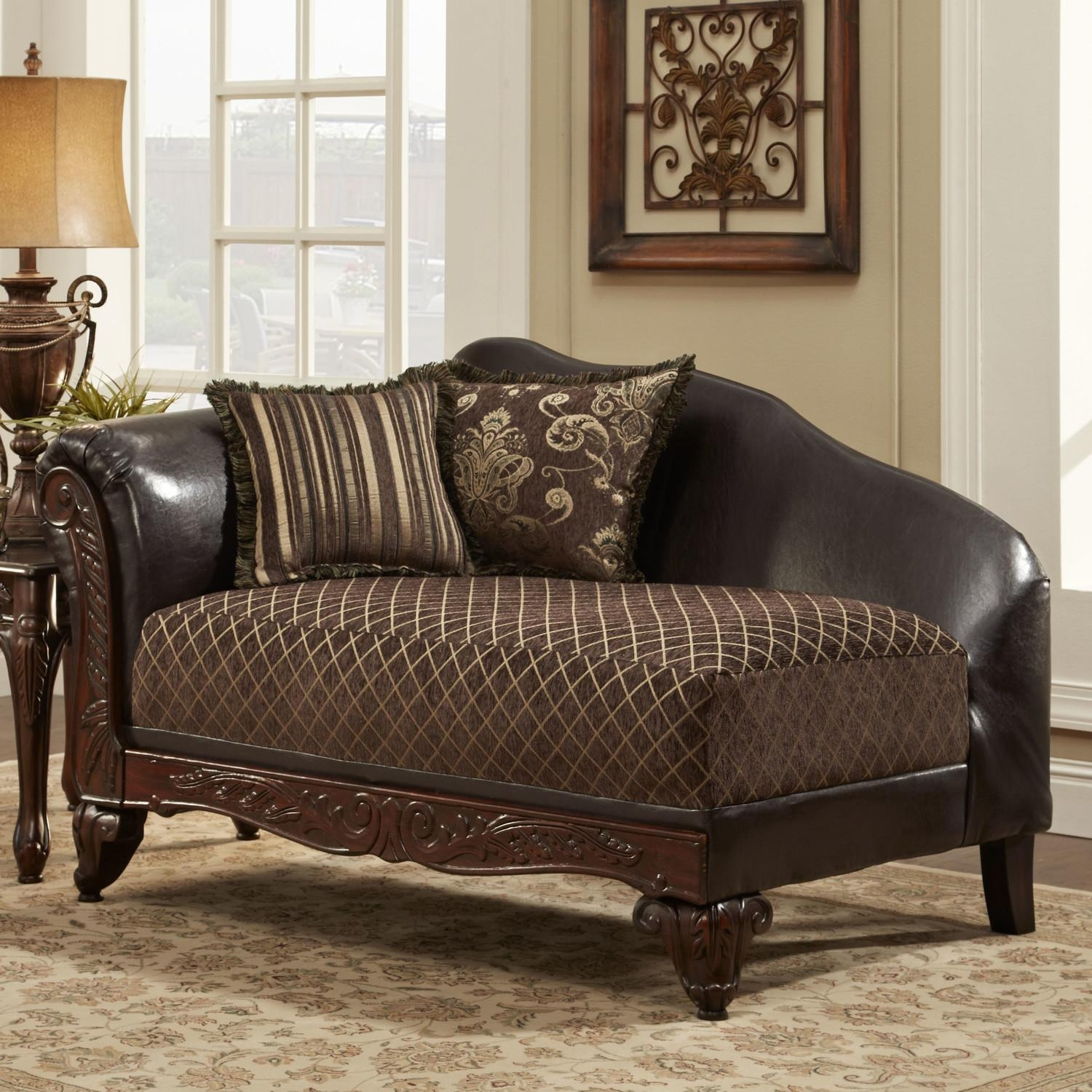 Furniture: Luxury Modern Chair Design With Leather Chaise For Chaise Sofa Chairs (View 9 of 20)