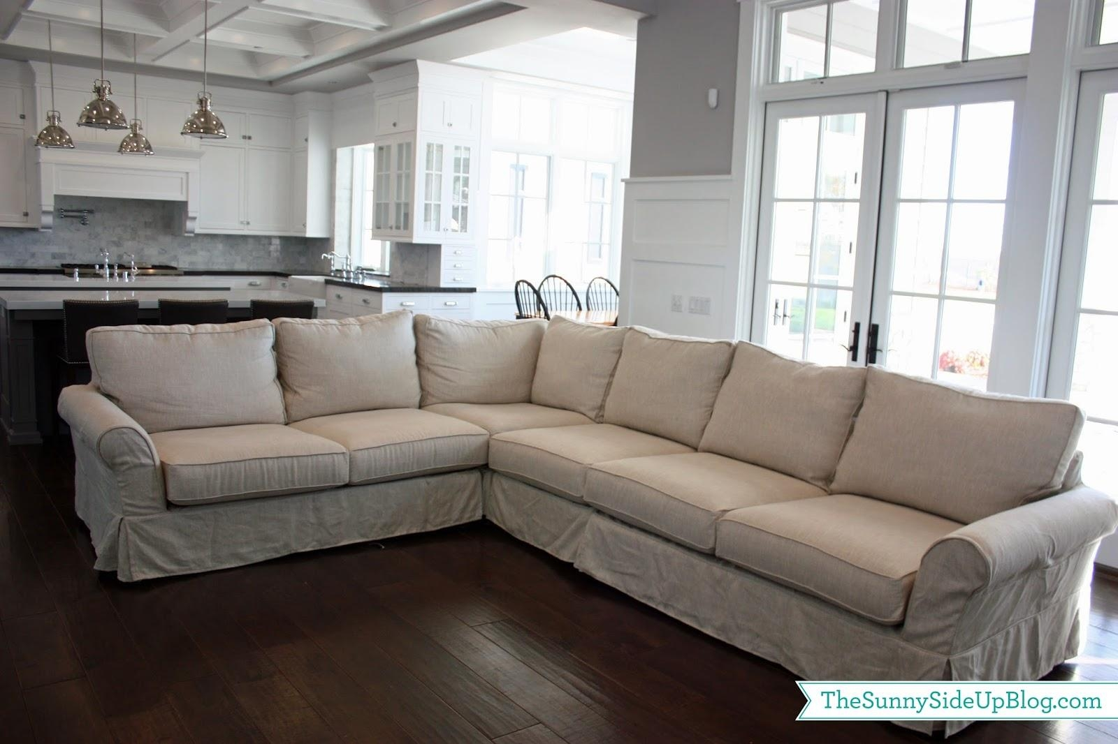 Furniture: Macys Couches | L Shaped Sectional | Pottery Barn Sectional Regarding Pottery Barn Sectionals (Image 5 of 20)