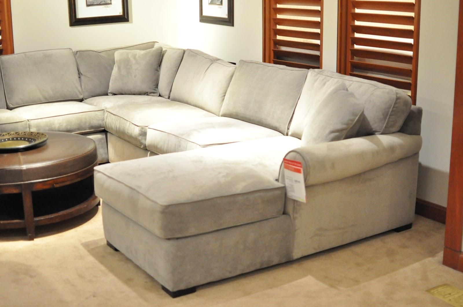 Furniture: Macys Couches | L Shaped Sectional | Pottery Barn Sectional With Regard To Macys Sectional (Image 5 of 20)