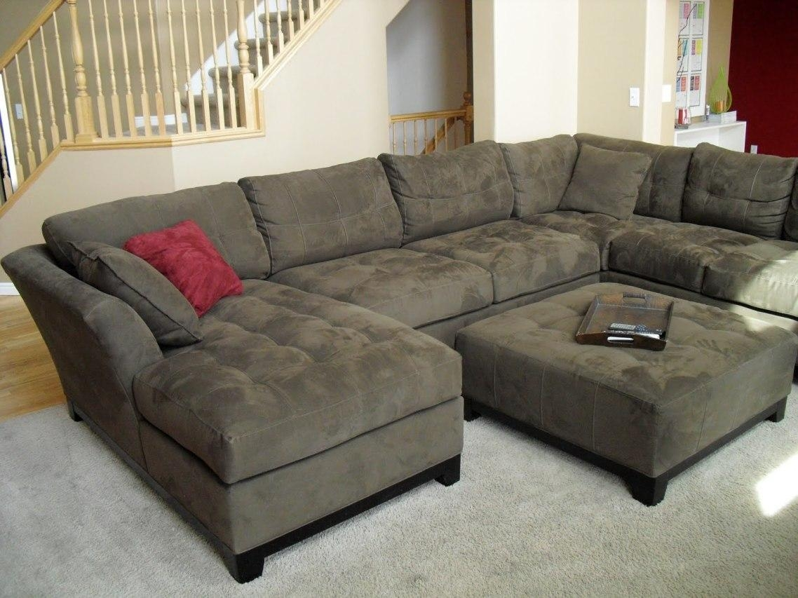 Furniture: Macys Sectional | Velvet Sectional Sofa | Leather With Large Comfortable Sectional Sofas (View 5 of 20)