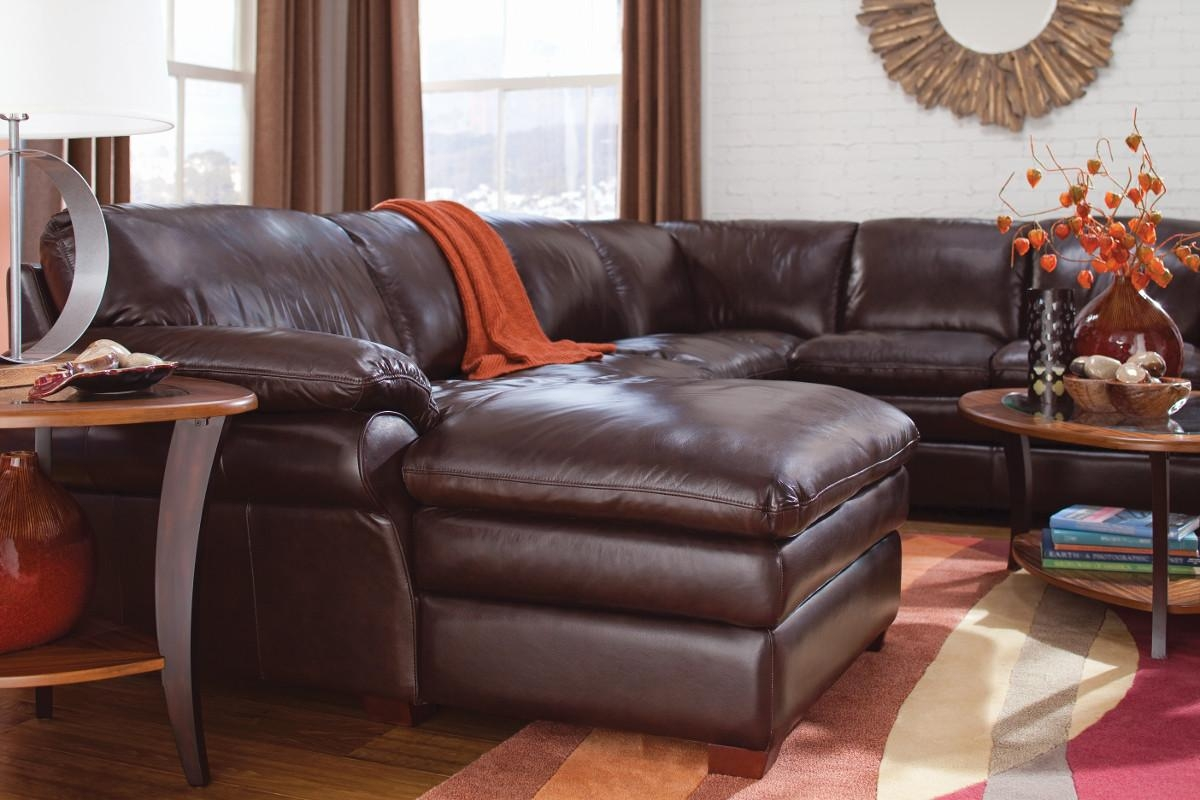 Furniture: Maximize Space In Your Living Room With Cozy Lazy Boy Regarding Lazy Boy Leather Sectional (Image 14 of 20)