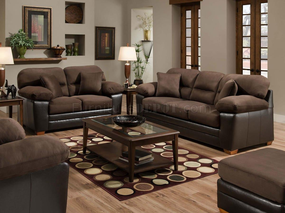 Furniture: Microsuede Sleeper Sofa With Brown Microfiber Couch With Microsuede Sleeper Sofas (Image 9 of 20)