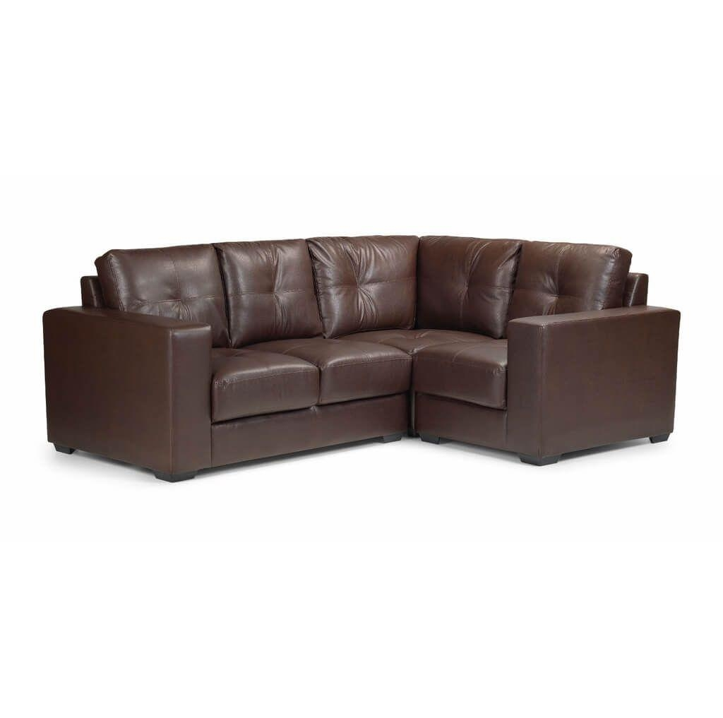 Furniture: Modern Black And White Leather Corner Sofa And Black Pertaining To Black Leather Corner Sofas (Image 8 of 20)
