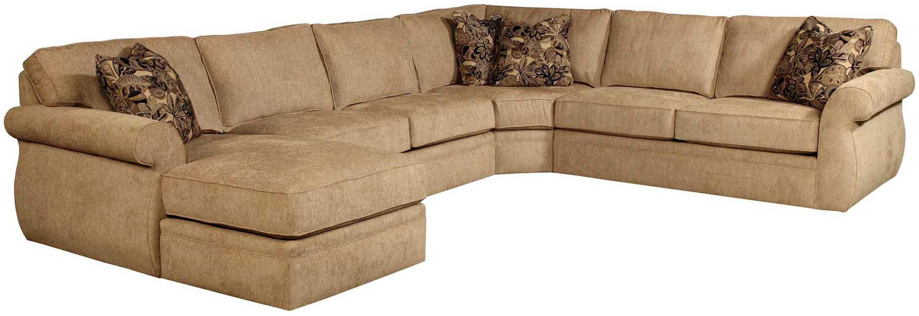 Furniture: Modern Chaise Sectional With Classic Comfortable Design Regarding Long Sectional Sofa With Chaise (Image 4 of 20)