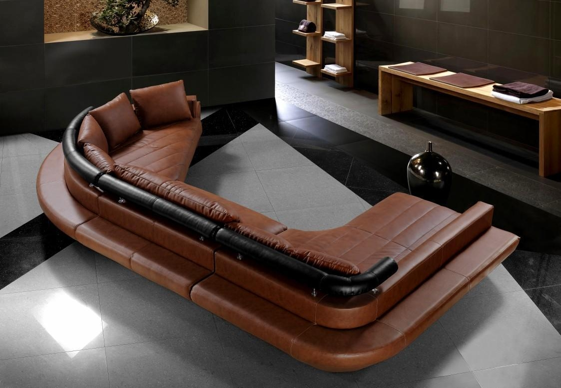 Furniture: Oversized C Shape Leather Sectional Sofa ~ Wayne Home Decor Inside C Shaped Sofa (View 13 of 20)