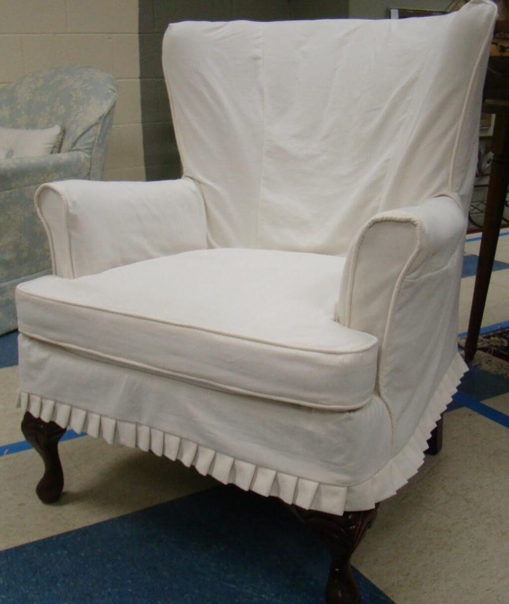 Furniture: Oversized Chair Slipcovers | Sure Fit Oversized Chair With Regard To Sofa And Chair Slipcovers (Image 10 of 20)