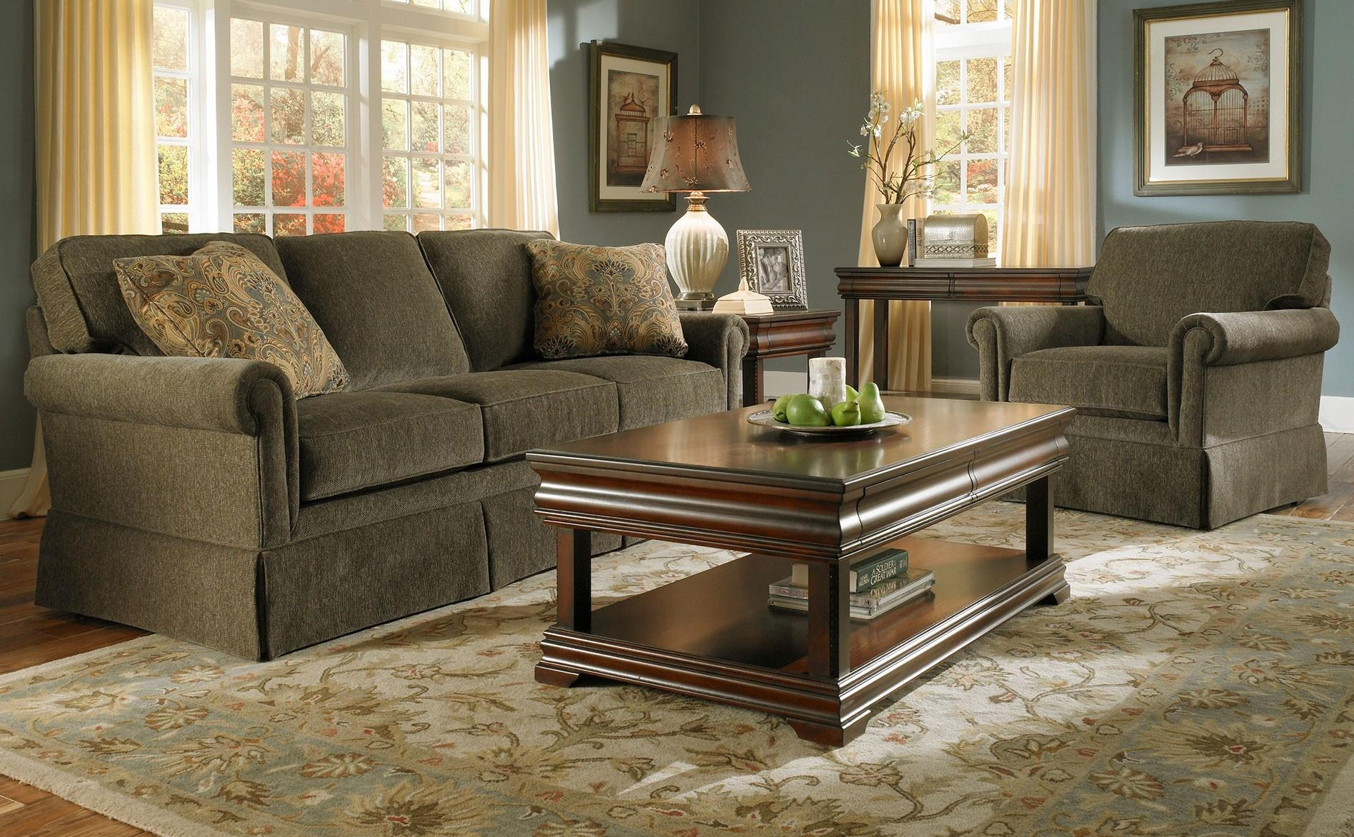 Furniture: Pick Your Lovely Broyhill Couch Design For Your Living Within Broyhill Sectional Sleeper Sofas (Image 16 of 20)