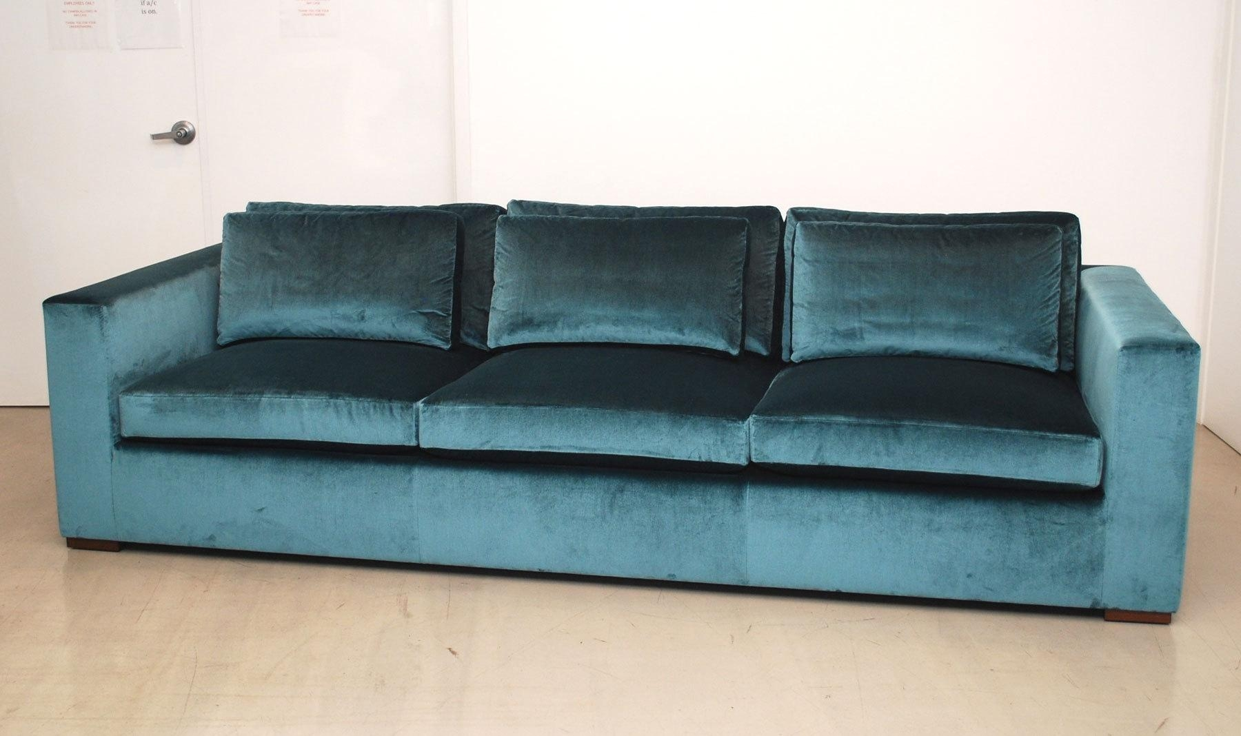 Furniture: Pintuck Sofa | Lane Leather Sofa | Velvet Couch Regarding Chartreuse Sofas (View 14 of 20)