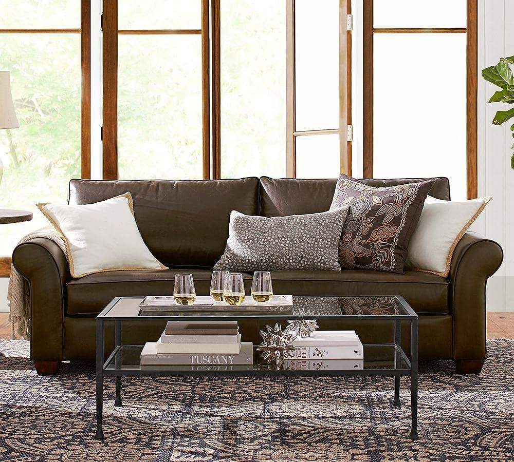 Furniture: Pottery Barn Pb Comfort Sectional | Pottery Barn With Pottery Barn Sectionals (Image 7 of 20)