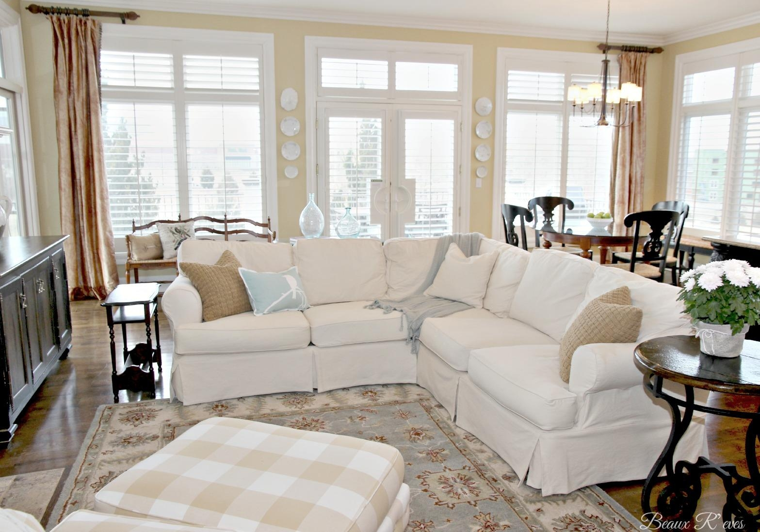 Furniture: Pottery Barn Sectional To Create Your Perfect Seating Intended For Pottery Barn Sectionals (View 1 of 20)