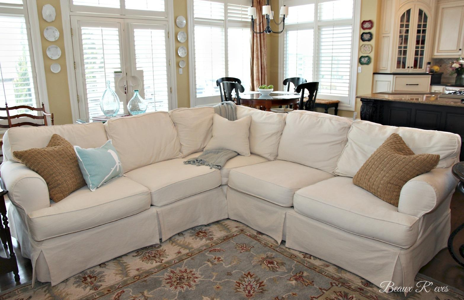 Furniture: Pottery Barn Sectional To Create Your Perfect Seating With Pottery Barn Sectionals (Image 16 of 20)