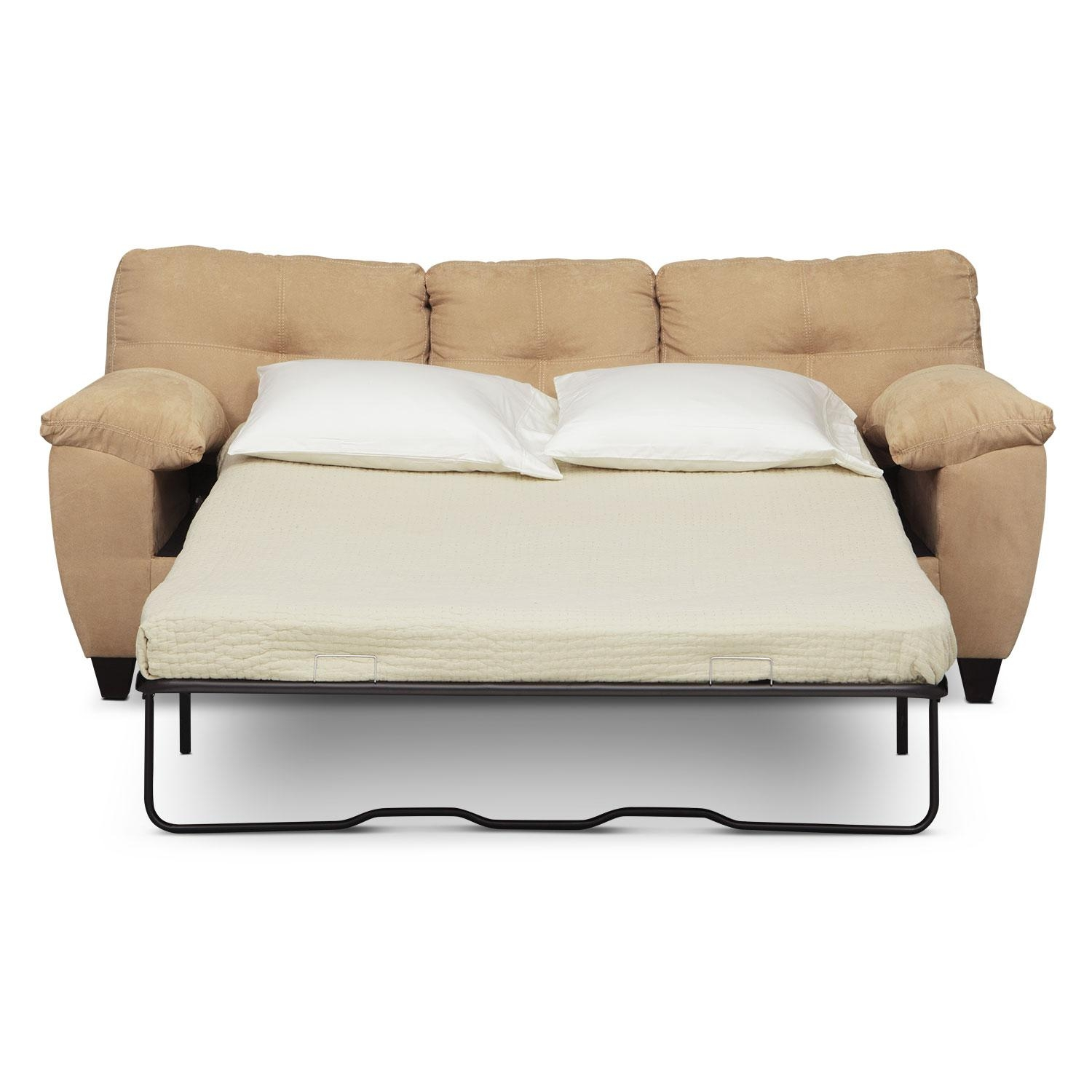 Furniture: Queen Size Simmons Sleeper Sofa For Stunning Home For Simmons Sleeper Sofas (Image 2 of 20)