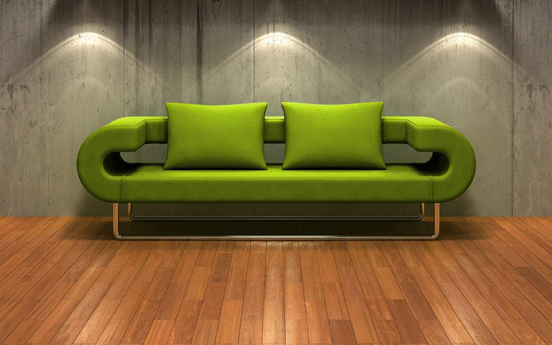 Furniture: Relaxing Green Sofas For Vivacious Living Room Regarding Green Sofas (Image 7 of 20)