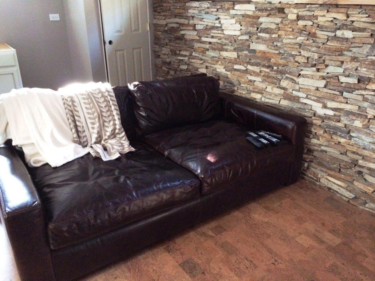 Furniture: Restoration Hardware Maxwell Created With A Devotion To With Brompton Leather Sectional Sofas (View 7 of 20)
