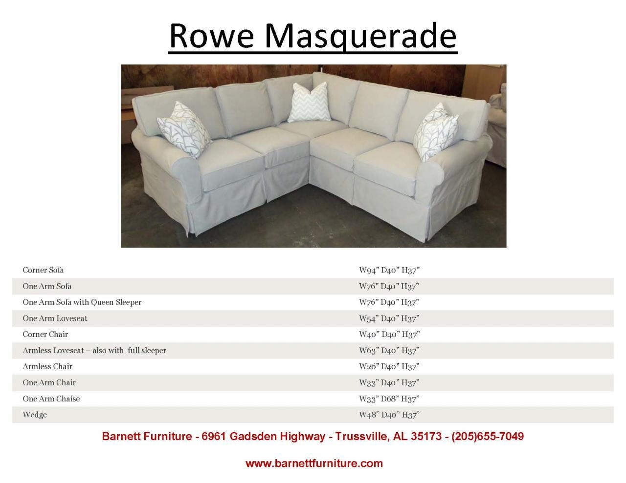 Furniture & Rug: Charming Rowe Furniture Slipcovers For Best Pertaining To Rowe Slipcovers (Image 9 of 20)