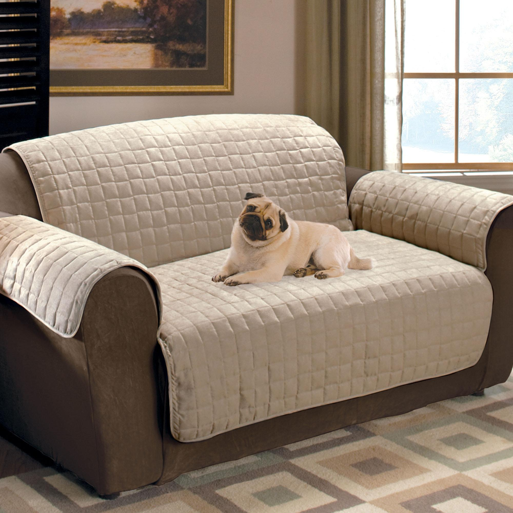 Furniture & Rug: Charming Slipcovers For Sofas With Cushions Inside Canvas Sofas Covers (Image 7 of 20)