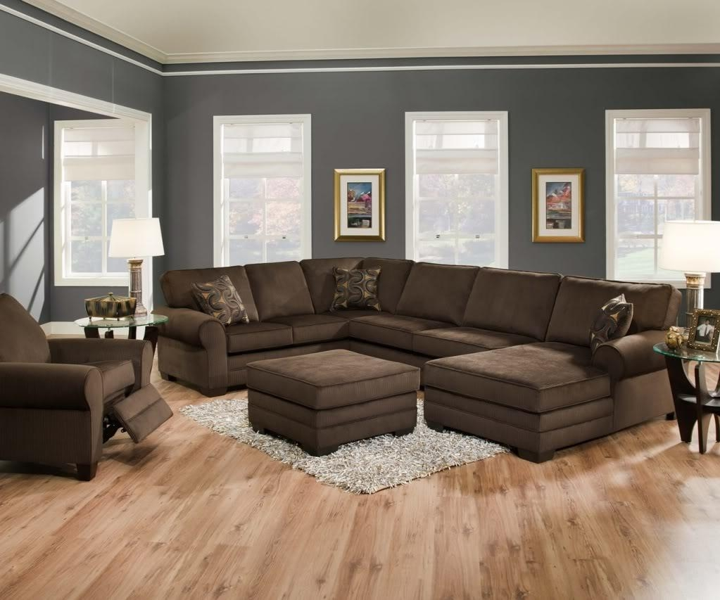 Furniture & Rug: Cheap Sectional Couches For Home Furniture Idea Throughout U Shaped Reclining Sectional (Image 4 of 20)