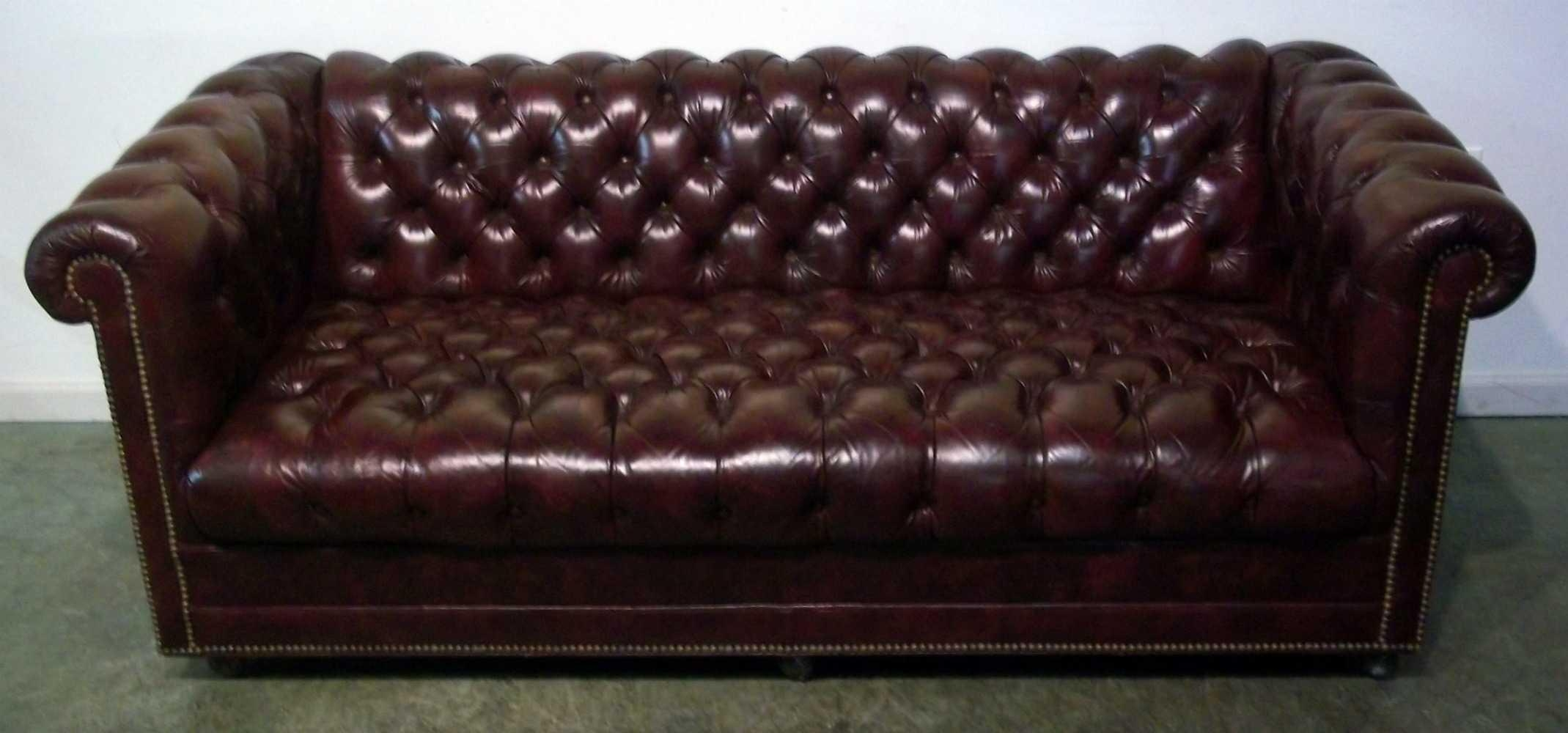 Furniture & Rug: Chic Ethan Allen Slipcovers For Seat Accessories Inside Ethan Allen Chesterfield Sofas (Image 6 of 20)