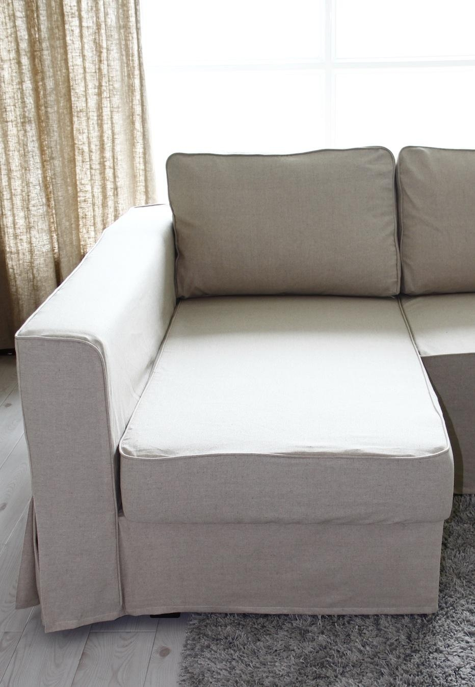 Furniture & Rug: Slipcovers For Sofas With Cushions Separate In Armless Slipcovers (Image 5 of 20)