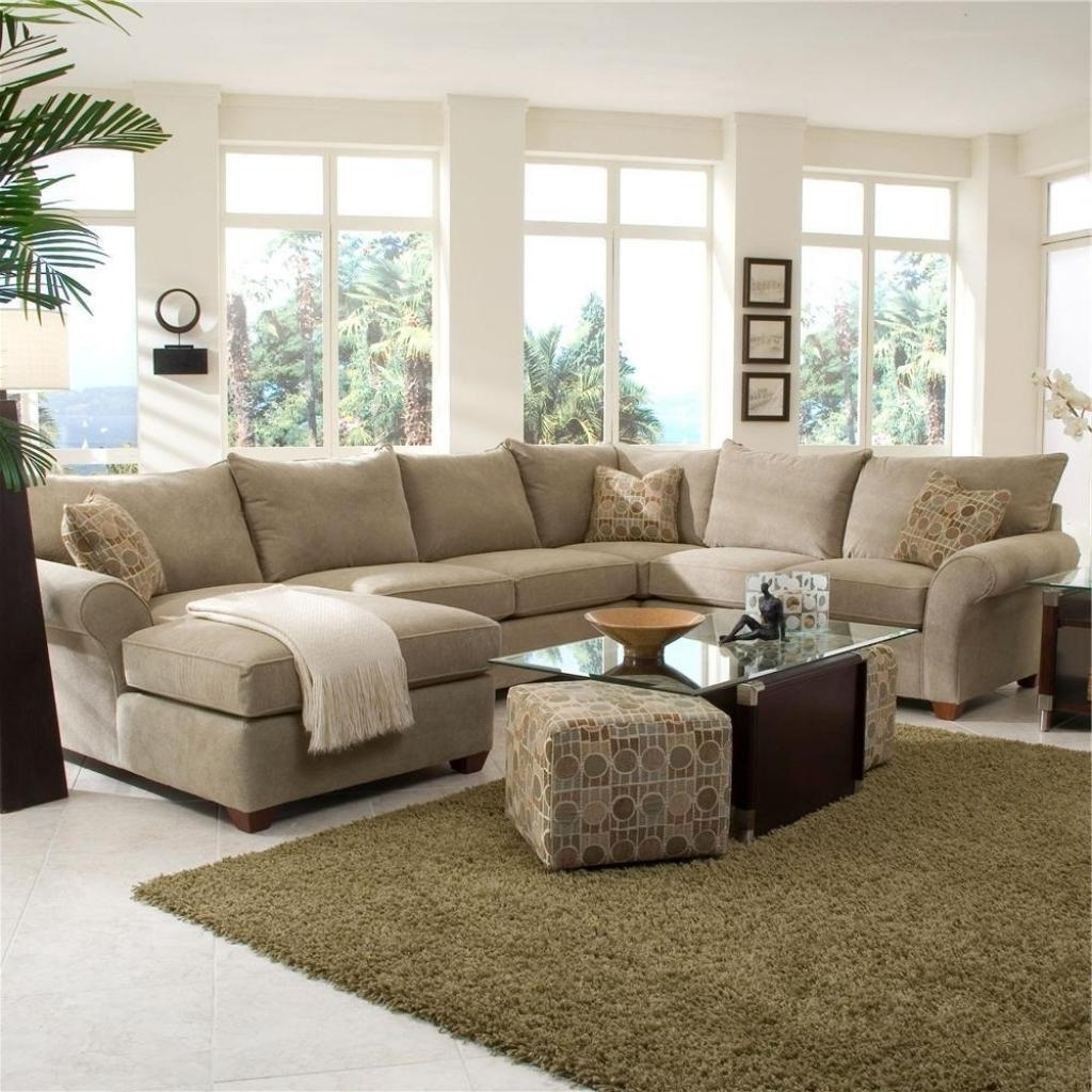 Furniture: Sectional Couches With Recliners | Modular Sectional For Large Microfiber Sectional (Image 12 of 20)