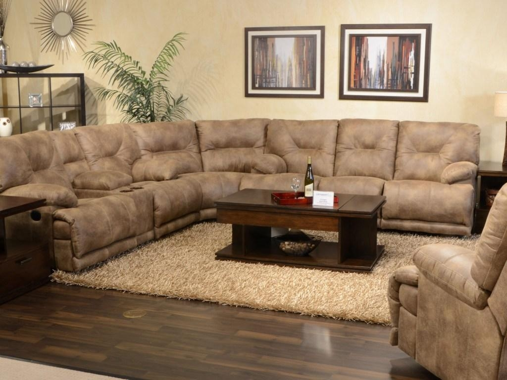 Furniture: Sectional Couches With Recliners | U Shaped Sectional Inside U Shaped Reclining Sectional (Image 9 of 20)