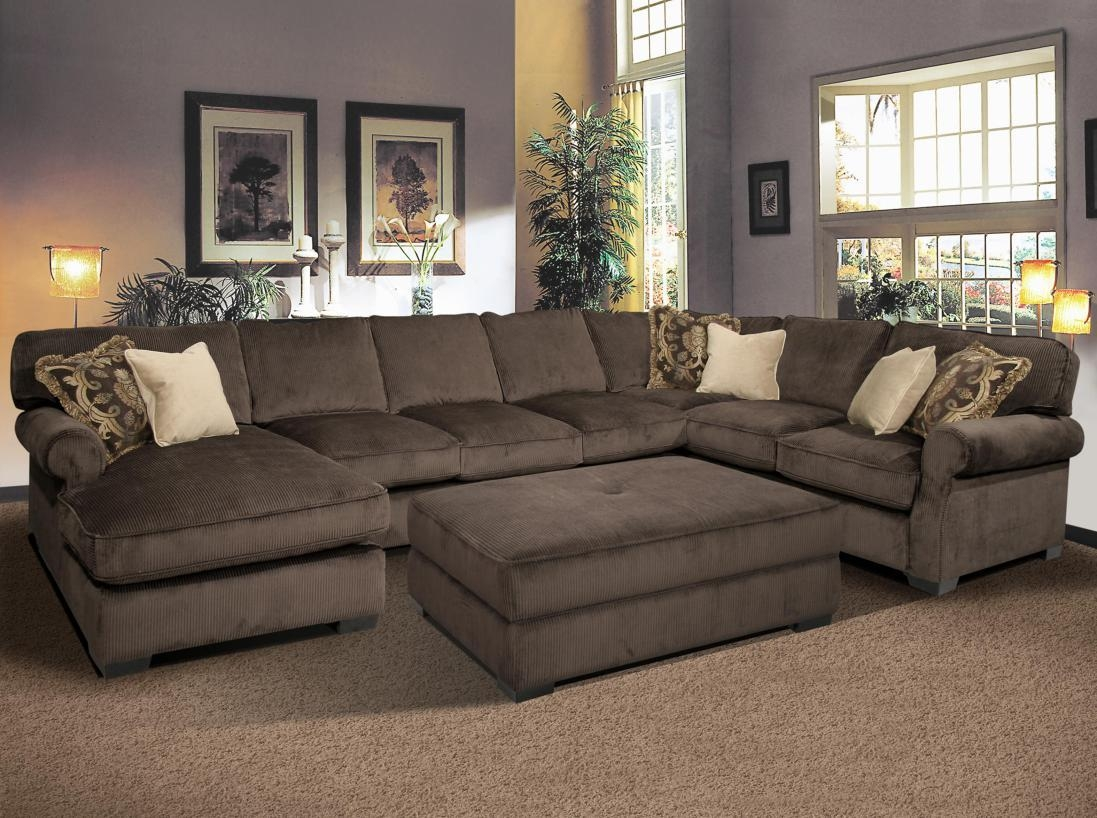 Featured Photo of U Shaped Reclining Sectional