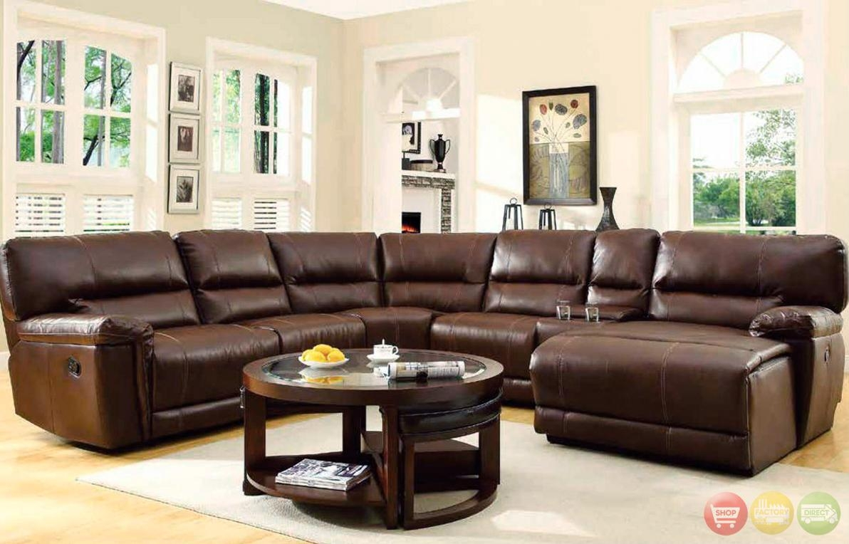 Featured Photo of Havertys Leather Sectional