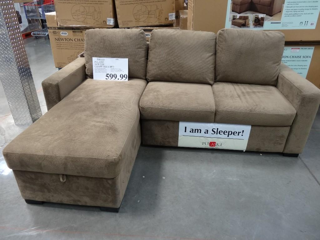 Furniture: Sectional Sofa With Sleeper | Euro Lounger | Costco Couch In Euro Lounger Sofa Beds (Image 18 of 20)