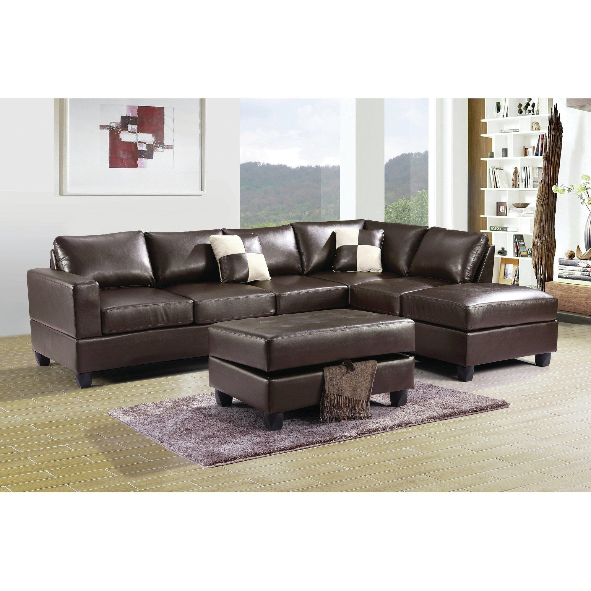 Furniture: Sectional Sofas Amazon | Tufted Sectional Sofa Chaise With Regard To Tufted Sectional Sofa Chaise (Image 5 of 20)