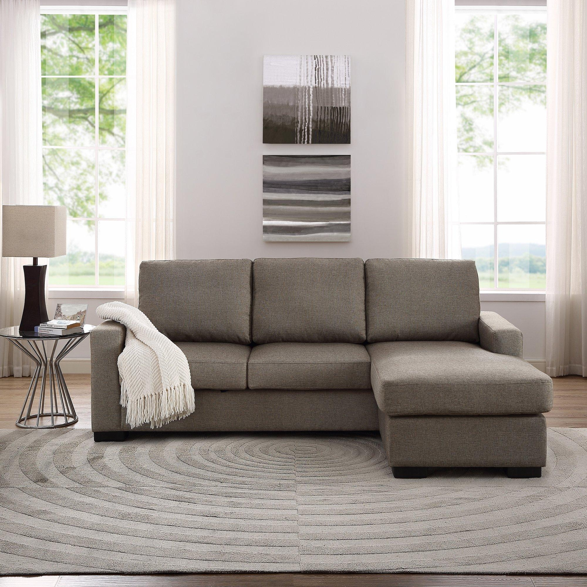 Furniture: Sectional Sofas Amazon | Tufted Sectional Sofa Chaise With Regard To Tufted Sectional With Chaise (Image 12 of 20)