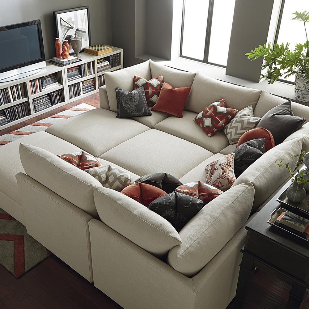 Furniture: Sectional Sofas With Chaise Lounge And Gray Leather With Media Room Sectional Sofas (Image 5 of 20)