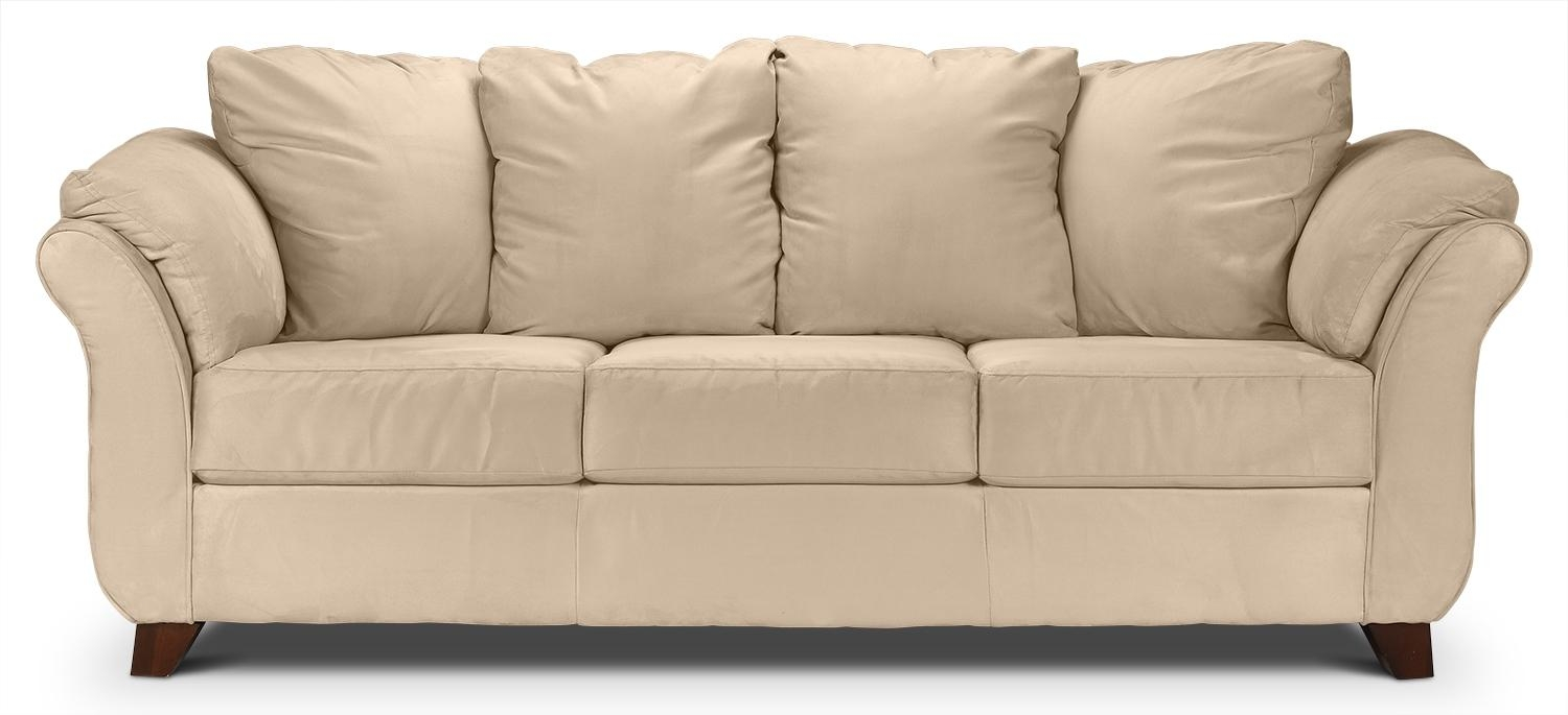 Furniture: Settee Couch | Couches And Sofas | Beige Couch Within Sofas (Image 8 of 20)