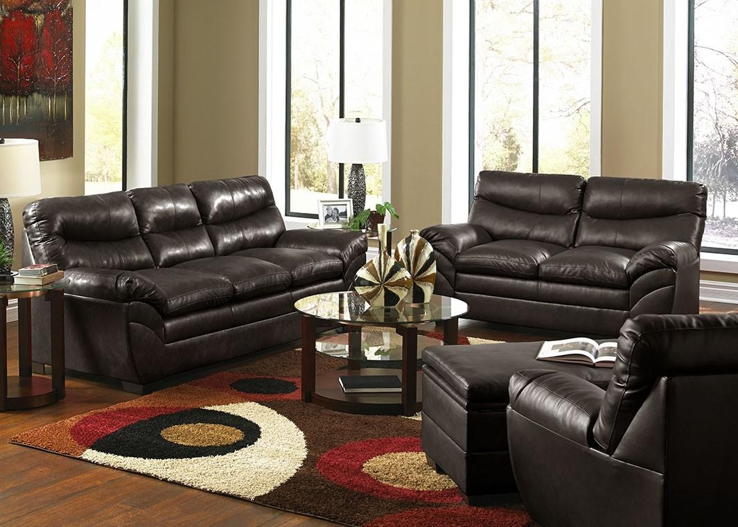 Furniture: Simmons Sectional For Comfortable Seating — Threestems Intended For Simmons Bonded Leather Sofas (Image 4 of 20)
